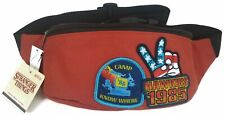 Funko Stranger Things Hawkins 1985 Fanny Pack Waist Pack Red Camp Know Where NWT