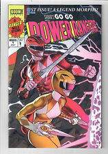 "GO GO POWER RANGERS #1 - Grade NM - ""X-Men"" Homage Convention 2017 ""A"" Exclusive"