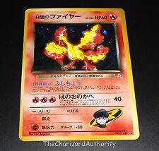 Rocket's Moltres No. 146 Gym 1 Heroes Set Japanese HOLO Pokemon Card NEAR MINT
