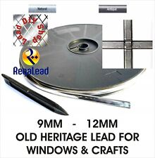 Old Heritage self adhesive lead strip window lead glass crafts REGALEAD