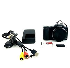 Sony Cyber-Shot DSC-H20 10.1MP Digital Camera with Charger, SD Card, Battery