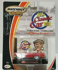 Matchbox Collectibles My Classic Car 1957 Ford Thunderbird Signed Dennis Gage