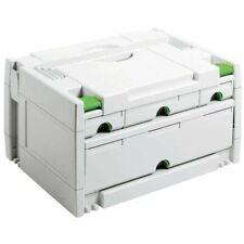 Festool SORTAINER SYS 3 SORT 4 491522 SYSTAINER mit 4 Schubladen