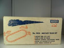 RARE LIONEL  SEARS POSTWAR No. 9820 MILITARY TRAIN SET ORIGINAL SET BOX ONLY