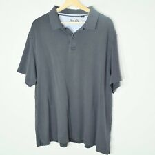 Tasso Elba Mens Polo Shirt Size XL extra Large 2 Button Knit Top