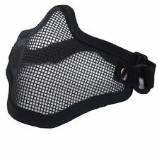 Steel Metal Mesh Protective  Mask Half Face Tactical Airsoft Military Mask