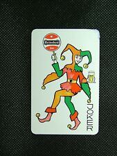 1 x Joker playing card single swap Heineken Bier ZJ1406