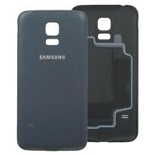 Genuine Original Samsung G800 Galaxy S5 Mini Black Dark Grey back battery cover