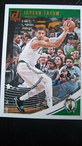 Jason Tatum Carta Basket Boston Celtics donruss NBA Card nmint 2019/19