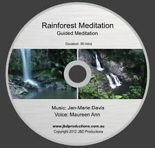 Guided Meditation CD Rainforest Meditation by Maureen & Jan-Marie Music & Voice