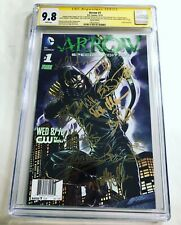 CGC SS 9.8 Arrow #1 Special Edition cast signed 12 sigs Amell Ramsey Haynes