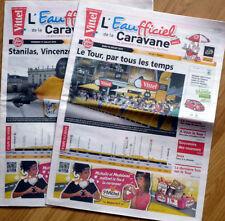 LOT 2 Journaux L'EAUFFICIEL de la Caravane Tour de France 2014