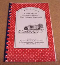Central Brevard Republican Women's Club Federated Cookbook by Presidents Senator