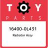 16400-0L431 Toyota Radiator assy 164000L431, New Genuine OEM Part