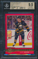 2015-16 O-Pee-Chee Glossy Red #R10 Jack Eichel Rookie Card Graded BGS All 9.5
