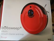 bObsweep Standard Robotic Vacuum Cleaner and Mop Rouge New