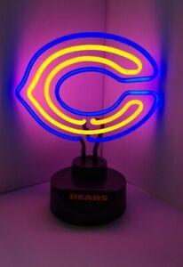 Chicago Bears Neon Logo Desk Lamp 2017