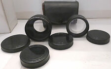 Imado Aux Wide Angle & Aux Telephoto Lens Set +Case - Great Set Made in Japan
