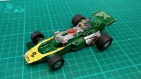 Vintage ZEE Lotus Indie Formula 1 Racing Car #2 Speed Car Toy Made In Hong Kong
