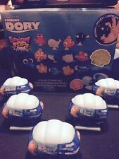 (5x)Disney Pixar Finding Dory Squishy Pops with Crystal characters*IN HAND*
