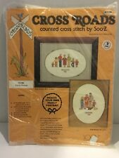 Embroidery Personalize Your Family Portrait Crossroads Cross Stitch Kit