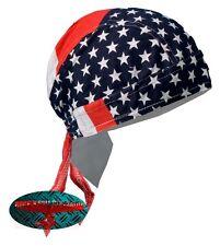 USA FLAG Bandana Kopftuch Headwrap Biker Chopper Cap Biker Harley Indian Stars