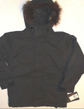 Billabong Jacket Snowboard Ski Boys 5k Waterproof Insulated Coat Black S $160