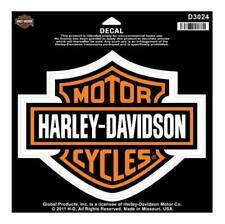HARLEY-DAVIDSON® BAR & SHIELD LARGE DECAL / STICKER D3024