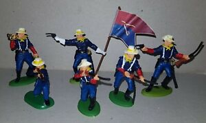dismounted 7th Cavalry Troops American Civil War DSG Soldiers ARGENTINA Britains