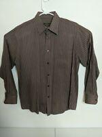 BUGATCHI UOMO Men's Large Long Sleeve Shirt