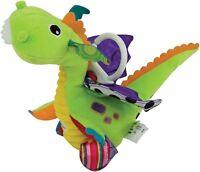 Lamaze FLIP FLAP DRAGON Attachable Newborn Baby Soft Toy Plush BN