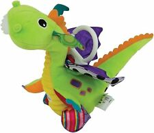 Lamaze Flip Flap Dragon collegabile Neonato Giocattolo Morbido Peluche BN