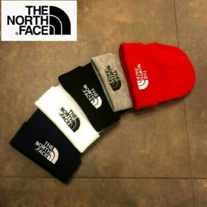 The North Face Fashion Women's Men's Knitted Beanie Hat Stretch Hat Knit Cap Hat