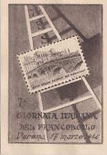 # VERONA: 7a GIORNATA ITALIANA DEL FRANCOBOLLO - 1946