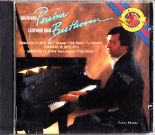 BEETHOVEN - Piano Sonatas/Works Nos.12, 18 & 26 CD 1987 MURRAY PERAHIA