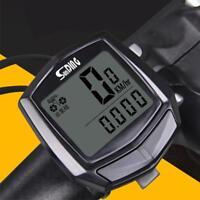 Waterproof LCD Digital Cycle Bike Bicycle Computer Speedometer Odometer