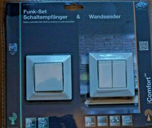 REV iComfort Set - Wandsender und Schaltempfänger 0086330103 Steuerbar mit App
