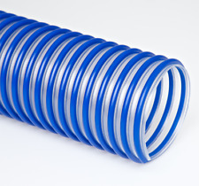 "Clear Flexible Dust Collection Hose - Flex-Tube PU 60 HF 4"" X 8' Urethane Hose"
