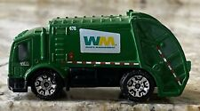 2005 MATCHBOX WASTE MANAGEMENT 678 GREEN TRASH GARBAGE TRUCK TRASH TITAN TOY