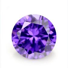 Purple Sapphire 1.45Ct 6MM Round Cut AAAAA Loose Gemstone