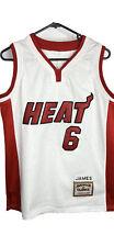 Miami heat Lebron James Nba jersey Medium Fit Hardwood classics Mitchell & Ness