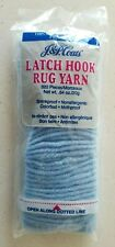 J & P Coats Latch Hook Yarn Precut 818 Blue Jewel 320 pcs .64 oz
