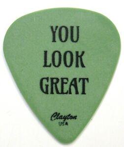 "Nate Mendel FOO FIGHTERS ""You Look Great"" guitar pick 2021 Seattle Benefit"