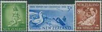 New Zealand 1958 SG768-770 Hawkes Bay set MLH