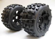 Baja 5B Wheels 6 Spoke & Knobby Tyres Rear Badlands MX style for HPI PRC KM RV