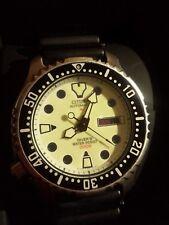 Taucheruhr/Diver: Citizen Promaster Automatic Edelstahl NY0040-09W Leuchtkeks !!