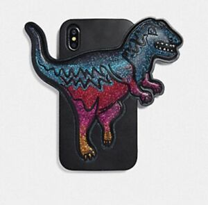 Coach Iphone XR Case With Rexy- Black/Multi, NWT, FREE SHIPPING
