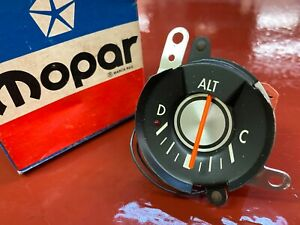 1977 1978 1979 1980 CHRYSLER LEBARON DODGE DIPLOMAT AMMETER MOPAR 4051295