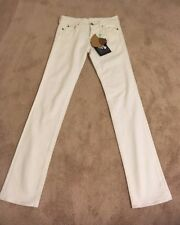 Hollywood Trading Company HTC White twiggy Jeans!size 27 NWT! Rare!
