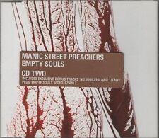 MANIC STREET PREACHERS Empty Souls 3 TRACK CD NEW - NOT SEALED  CD2